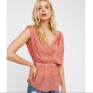 Free People Stardust lace top